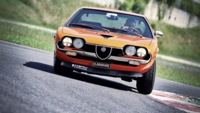 Photo of Alfa Romeo Montreal 2.6 V8 la prova in pista