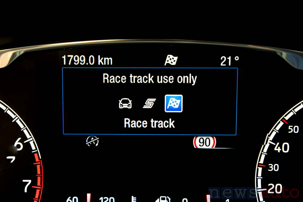 Ford Fiesta ST 2018 Drive Mode Track
