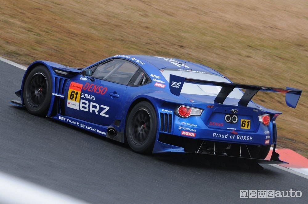 foto versione racing Subaru STI
