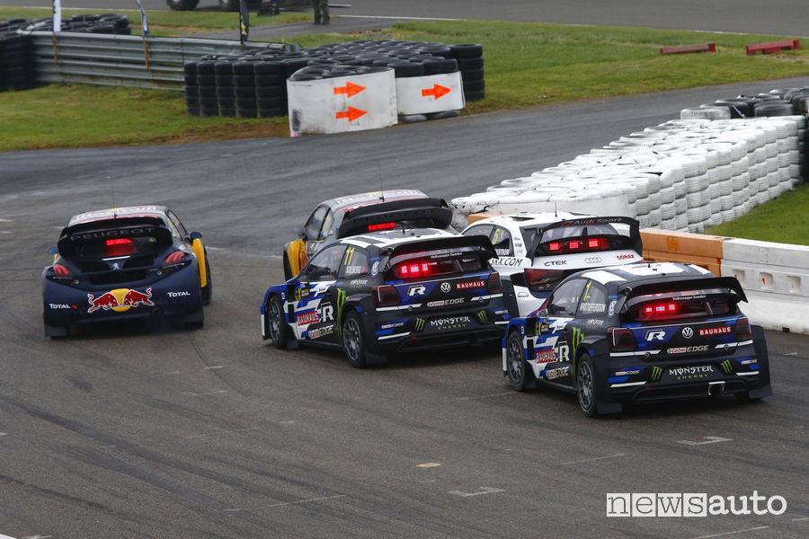 WRX 2018 classifica Rallycross Belgio