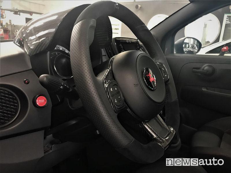 Abarth 500 elaborata Baronio Romeo Ferraris
