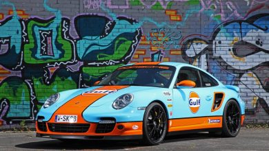 Photo of Porsche 997 Turbo Gulf tuning by Cam Shaft