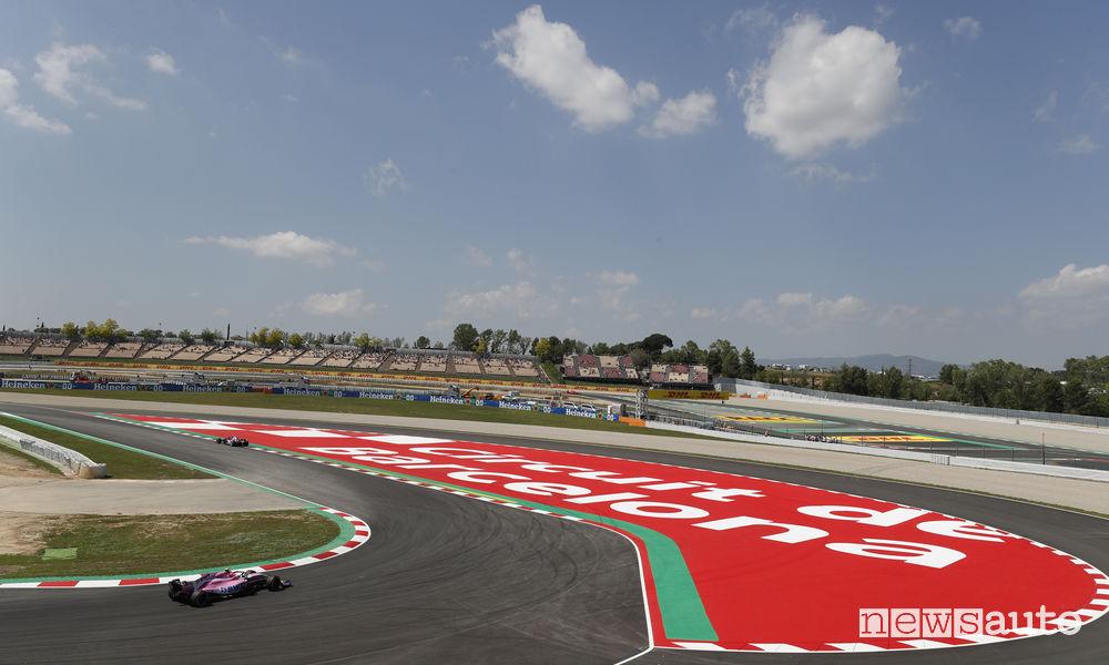 Qualifiche F1 Gp Spagna 2018 circuito di Barcellona