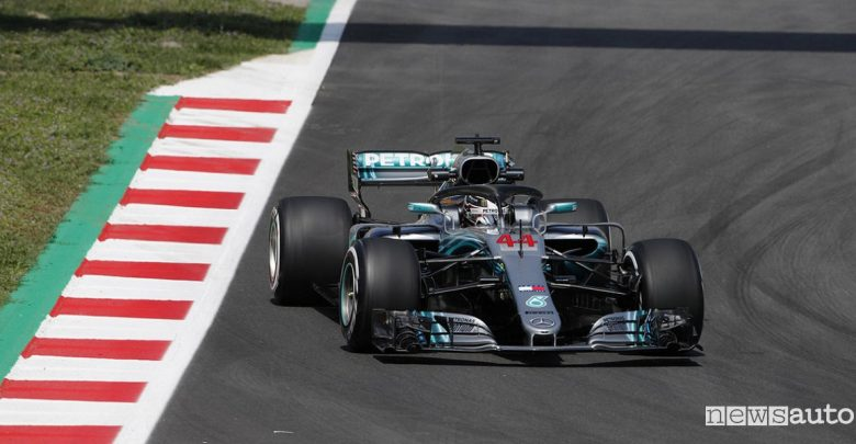 F1 2018 classifiche gara Spagna Mercedes Hamilton