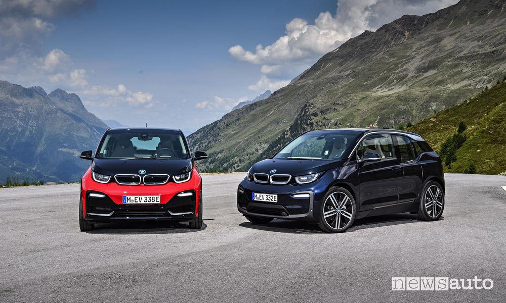 Auto elettriche BMW i3 2018