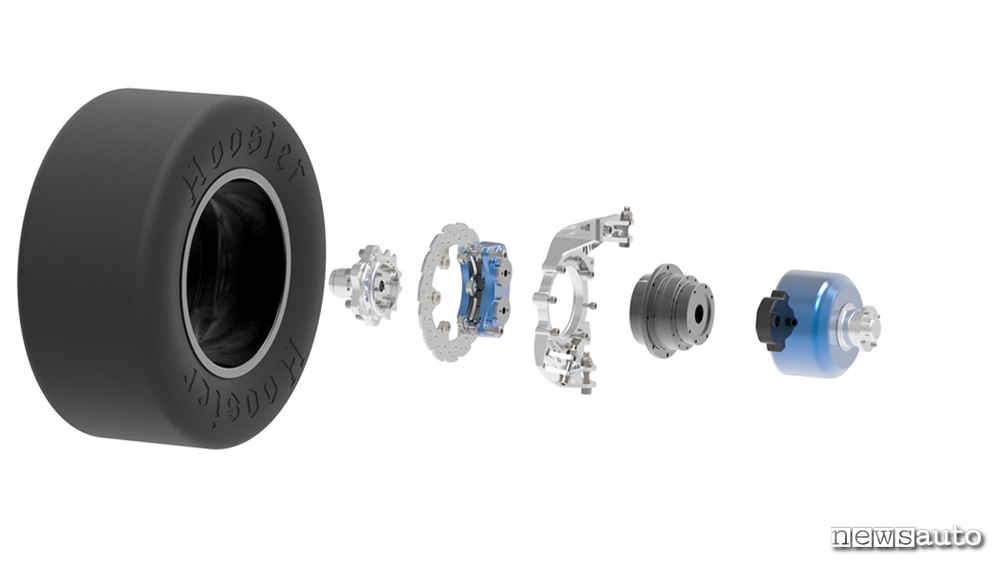 Formula SAE Electric engine wheels