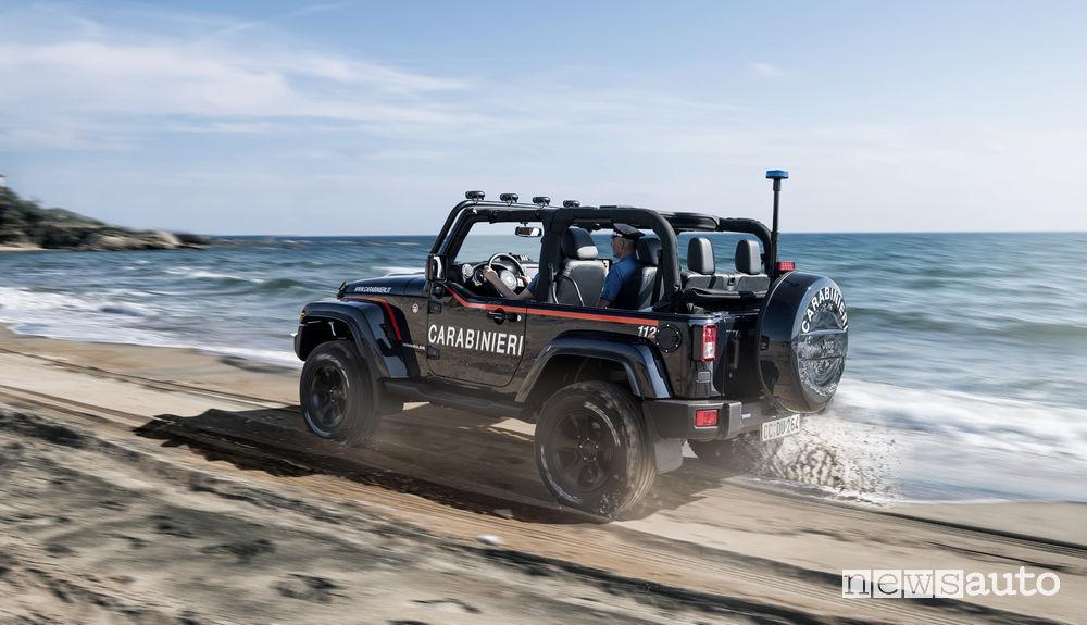 Jeep Wrangler ai Carabinieri