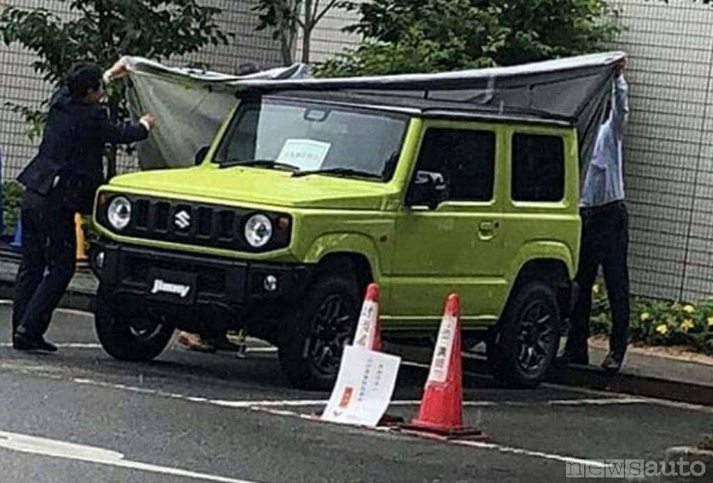 Nuovo Suzuki Jimny 2018