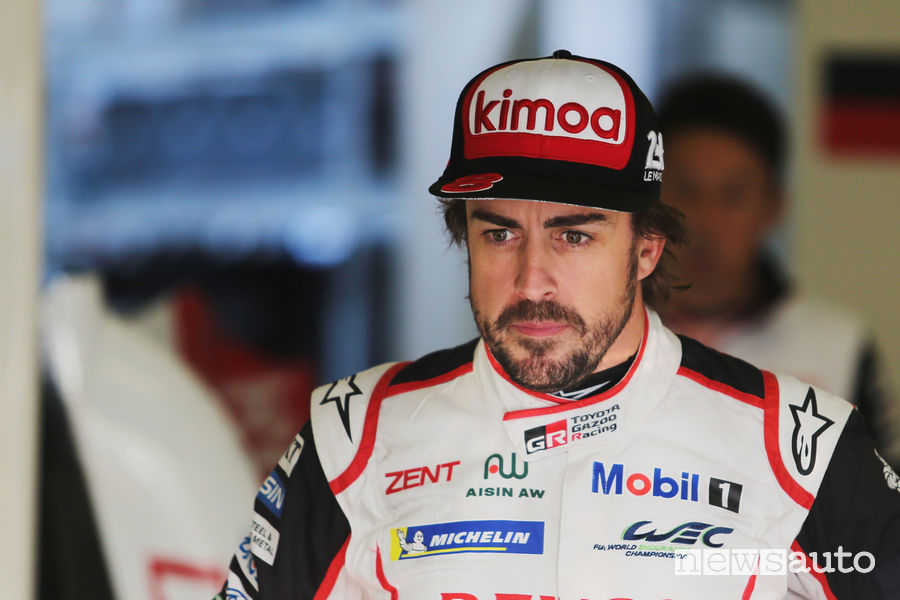 Fernando Alonso addio f1