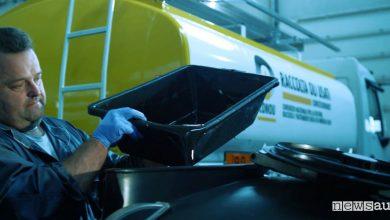 olio motore usato, come va smaltito?