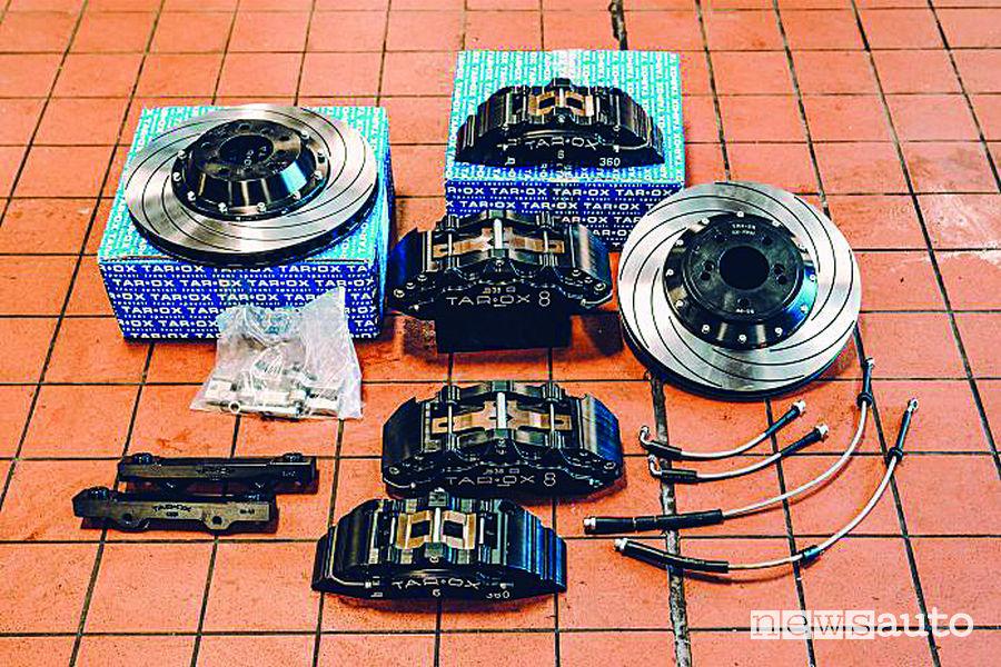 BMW M3 F80 kit freni Tarox