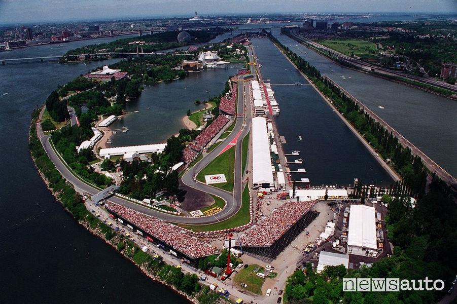 Circuito Gilles Villeneuve Canada F1