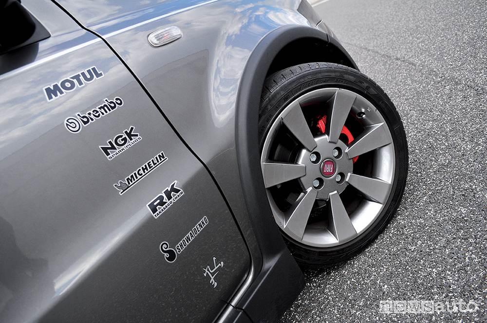 Fiat Panda Turbo foto ruota