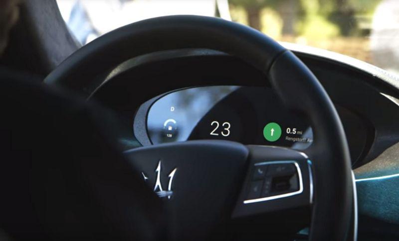 Maserati cockpit FCA guida autonoma