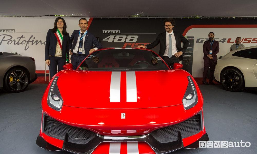 Ministro Danilo Toninelli al Salone Auto Torino Parco Valentino