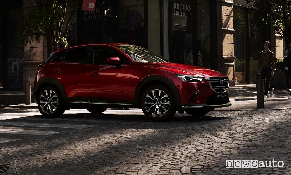 Mazda CX 3 restyling 2018