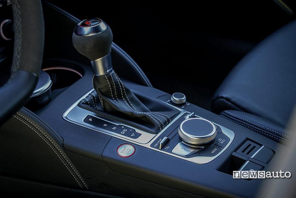 Audi RS3 2018 cambio DSG 7 marce