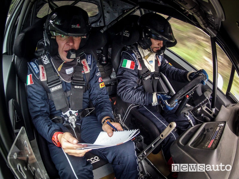Peugeot 208 R2 De Tommaso/Ferrara on board Rally di Roma Capitale 2018