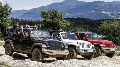 Jeep Wrnagler 2019 al Camp Jeep Austria 2018