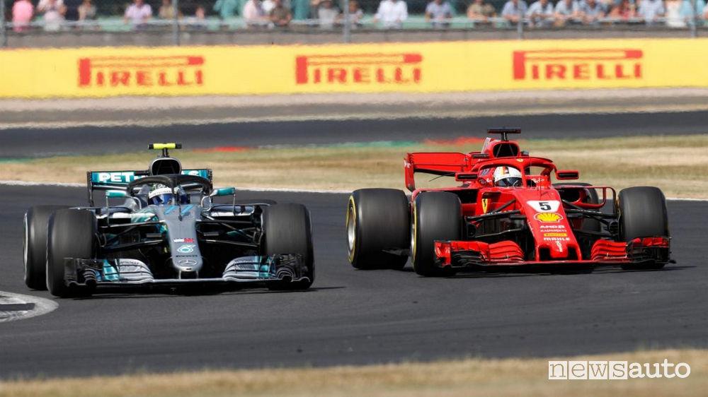F1 2018 classifiche gara Gran Bretagna
