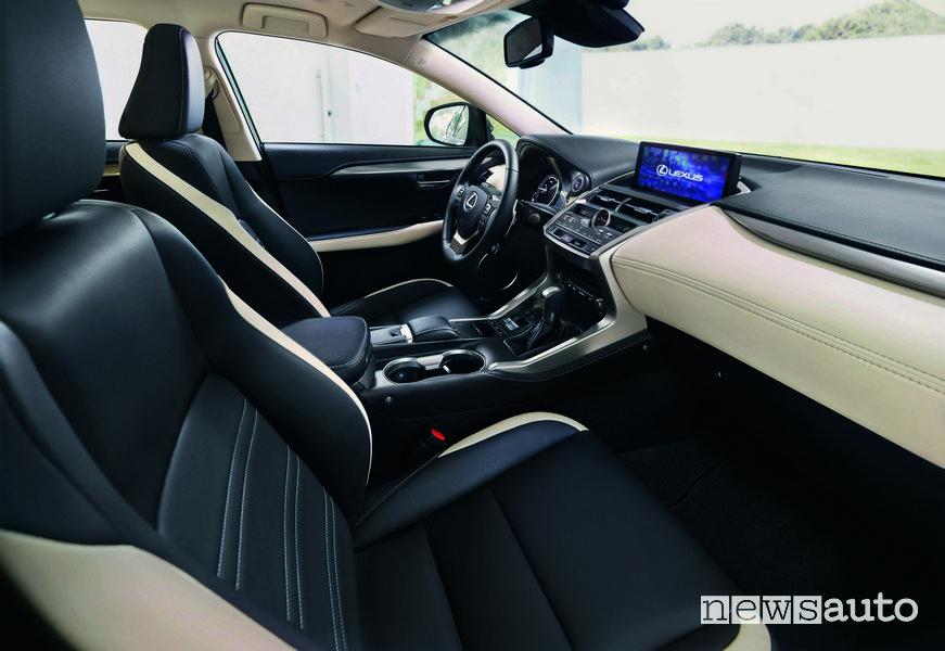 10 auto ibride più vendute in Italia Lexus NX Hybrid Special Edition Sport interni