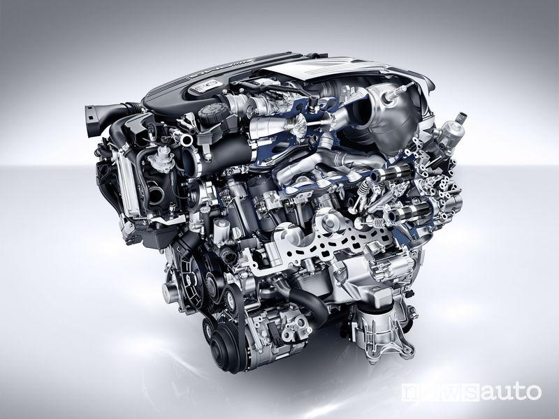 Mercedes-AMG_C 63 motore 4.0 V8 Birturbo 2019 sezionato