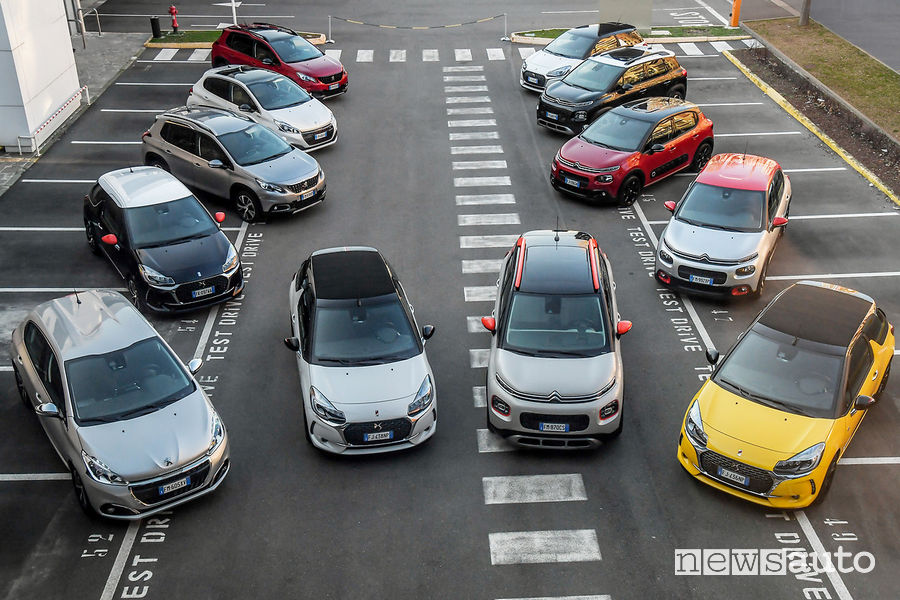Vendite auto novembre 2018 PSA Citroen Peugeot DS