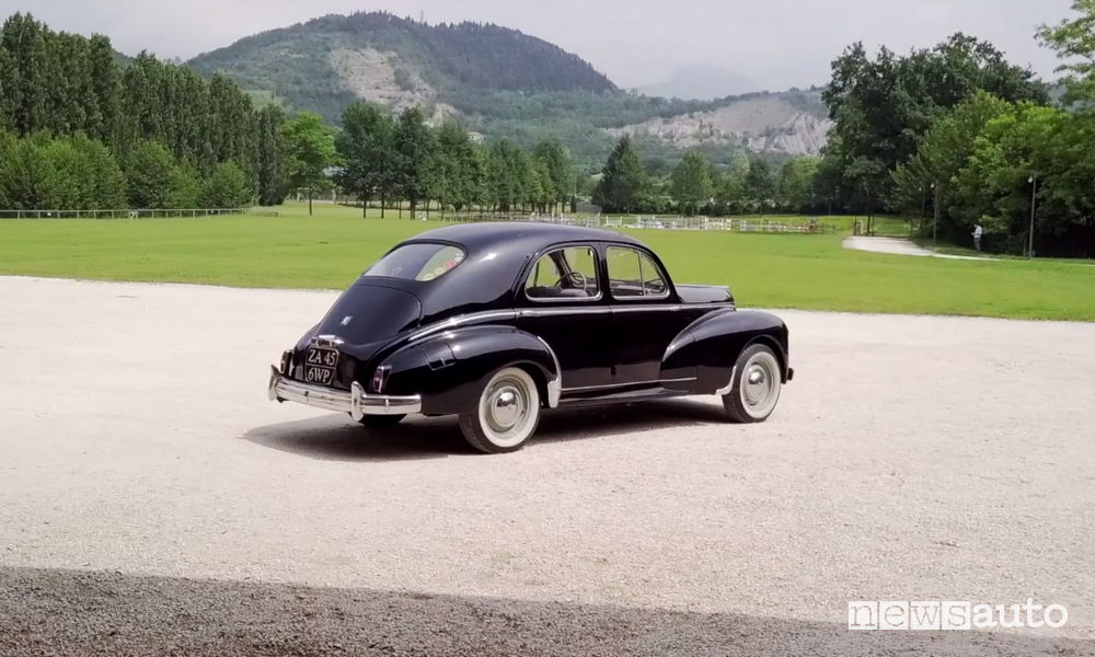 Peugeot 203 video Franciacorta