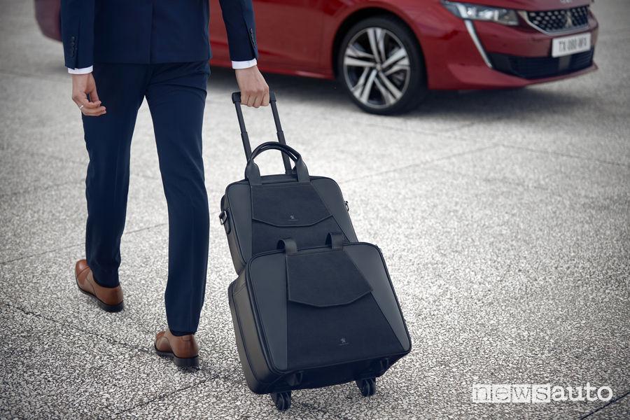 Peugeot Alcantara Slim e Trolley Nuova 508
