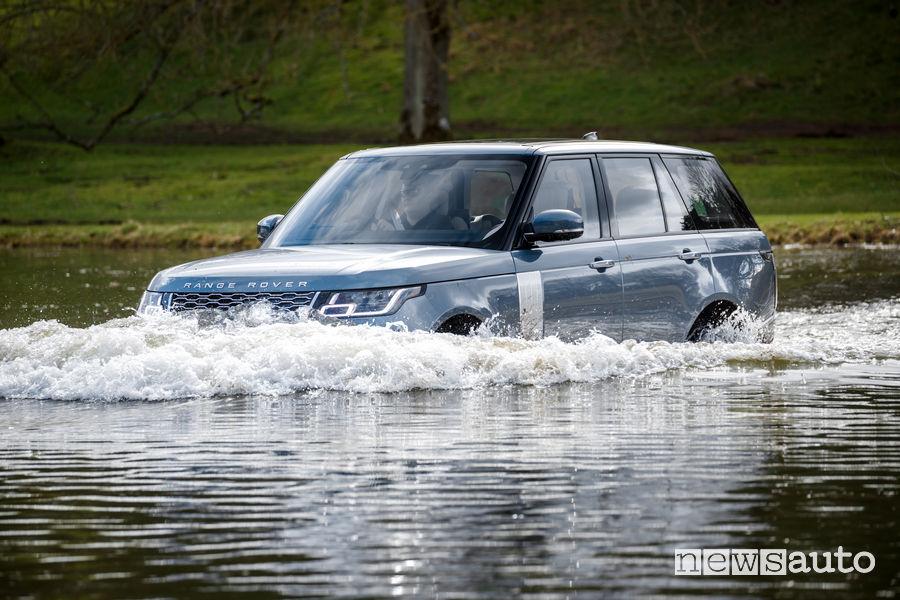 Range Rover PHEV 2019 blue guado