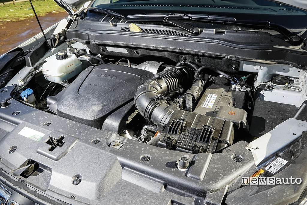 Ssangyong Korando motore