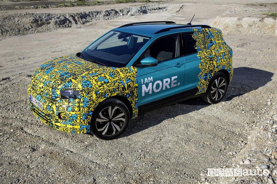 Volkswagen T Cross livrea camouflage