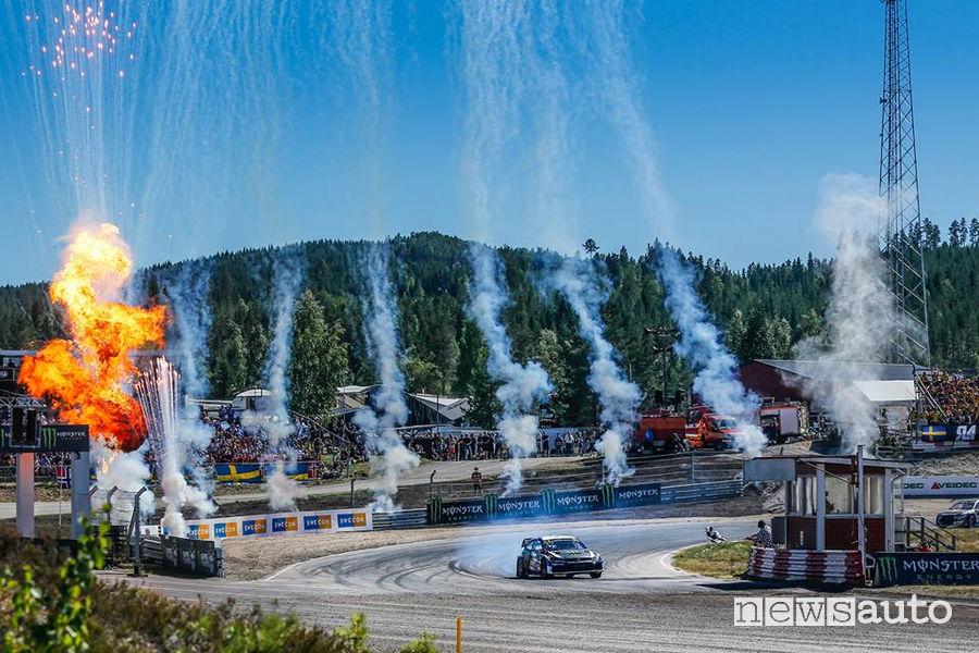 WRX 2018 classifica Rallycross Svezia