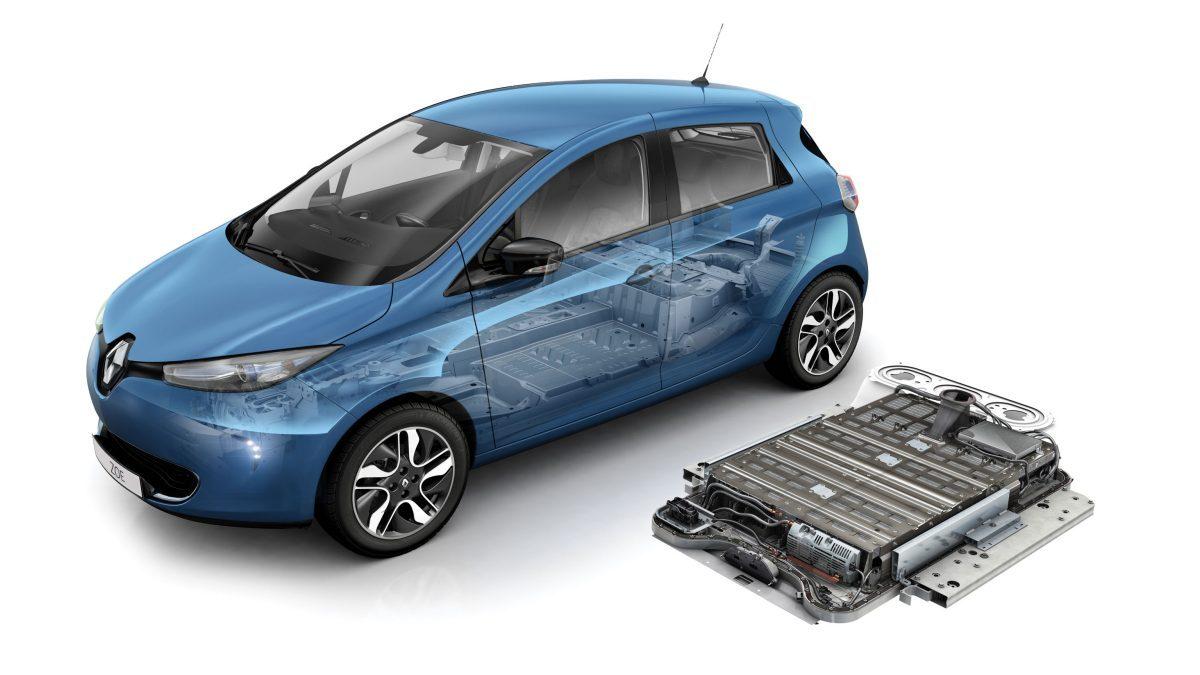 Batteria auto elettrica renault zoe 40 300 km cambio sostituzione batteria 41 kw