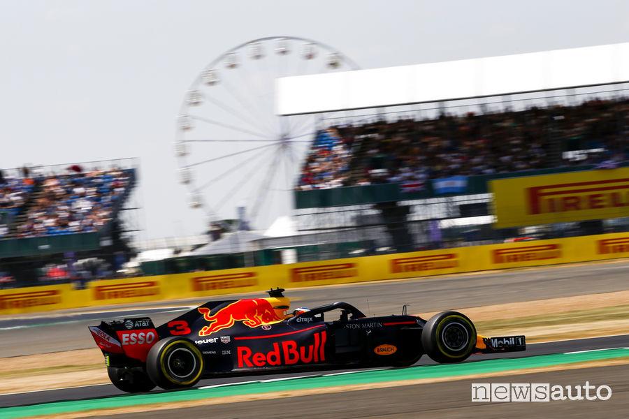 Red Bull - Calendario Gare luglio 2018