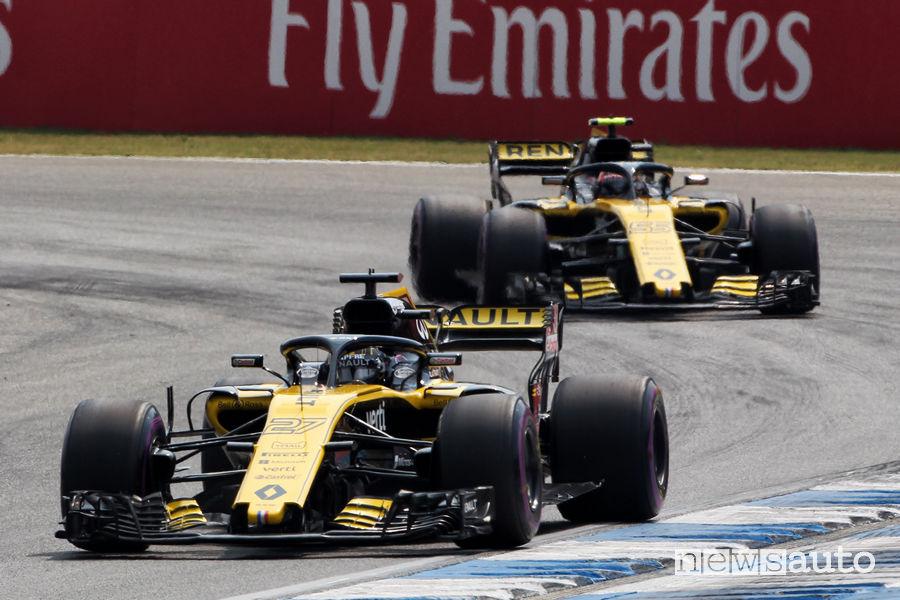 Renault Sport Formula One Team F1 2018 Gp Germania Hockenheim