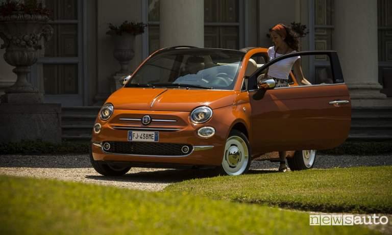 fiat 500 auto per donne auto femminile