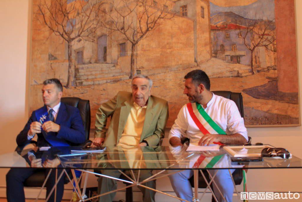 ingegnere nicola materazzi cittadino onorario di Torraca salerno