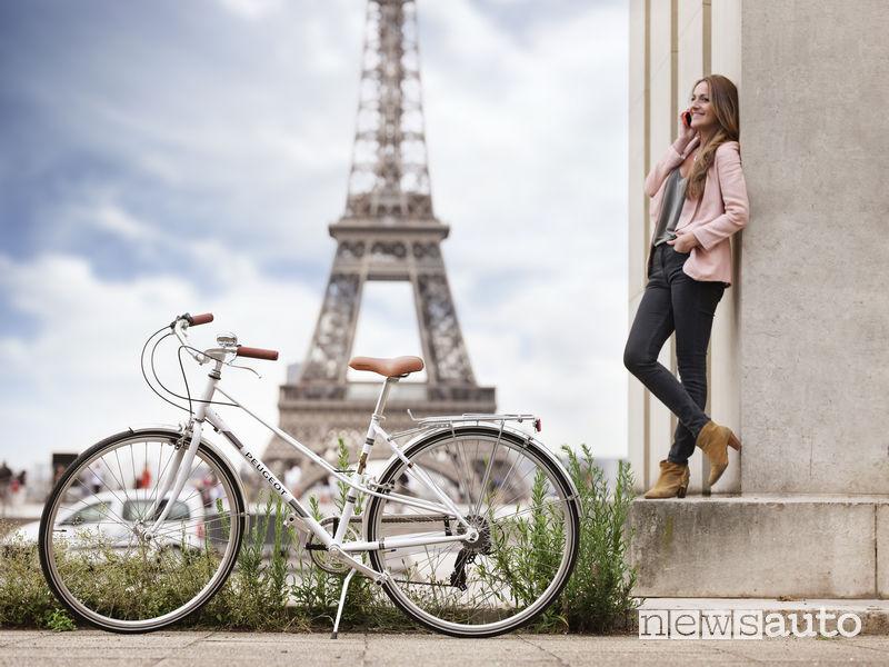 Biciclette Peugeot Legend LC01 Parigi Torre Eiffel