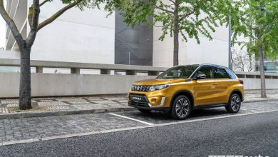 Nuova Suzuki Vitara 2019 vista di profilo