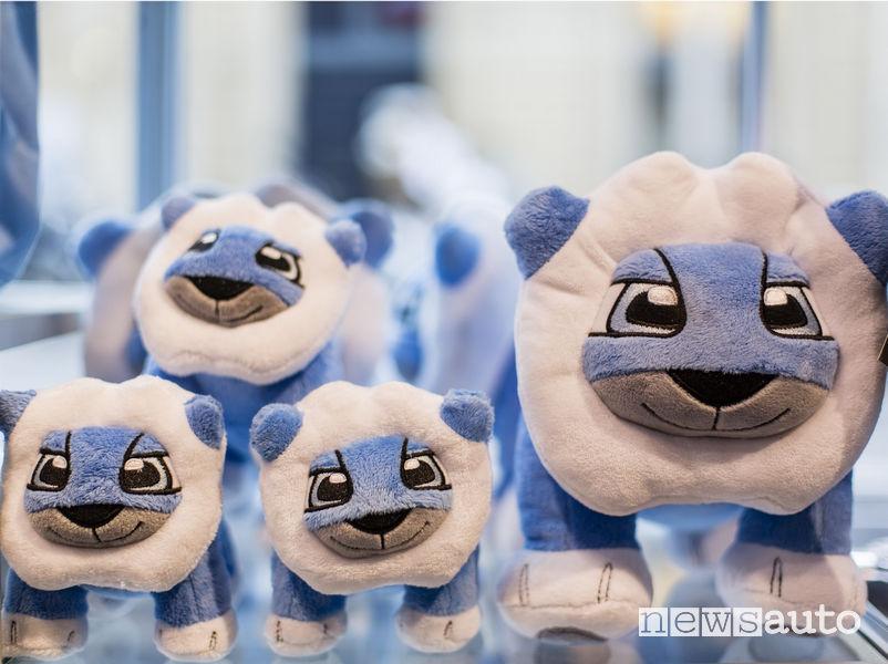 Peugeot Design Lab, peluche Leo gioco per bambini