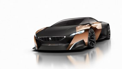 Photo of Concept car Peugeot, design Nuova 508