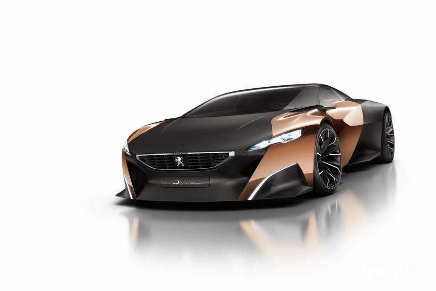Peugeot concept Onyx