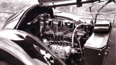 Primo motore diesel Peugeot sul taxi 402 LT