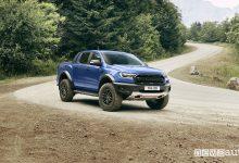 Ford Ranger Raptor 2019 vista di profilo