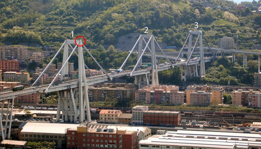 Ponte crollato genova Ponte Morandi