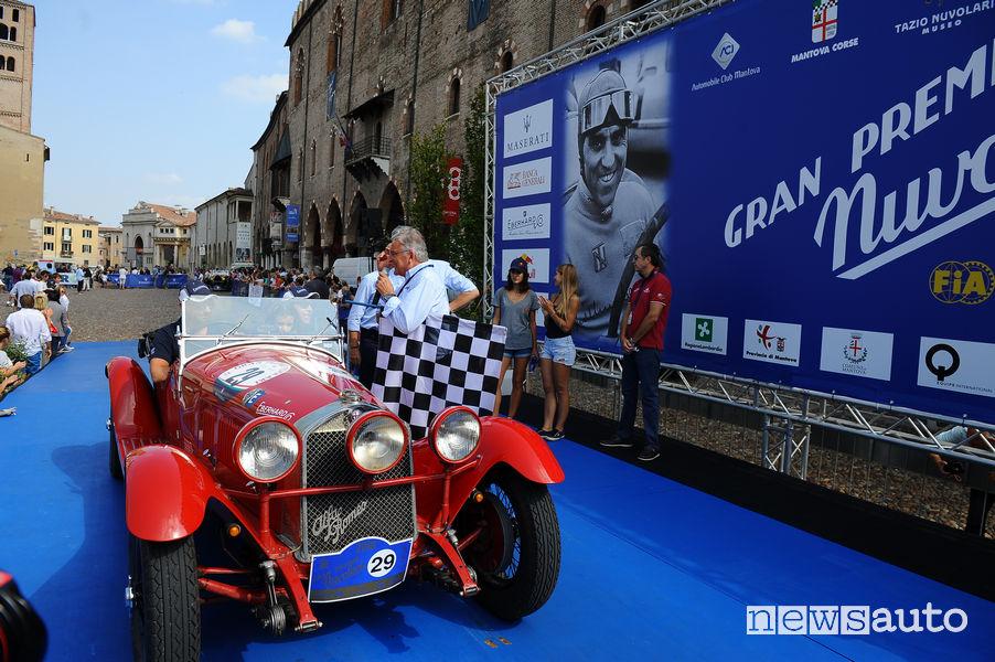 Andrea Vesco e Andrea Guerini Special Team Eberhard secondi classificati Gp Nuvolari 2018