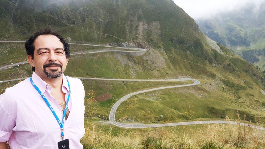 Gianluigi Giannetti Transfagarasan record