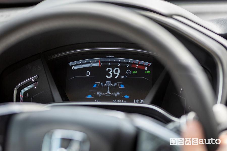 Honda_CR-V 2018, quadro strumenti