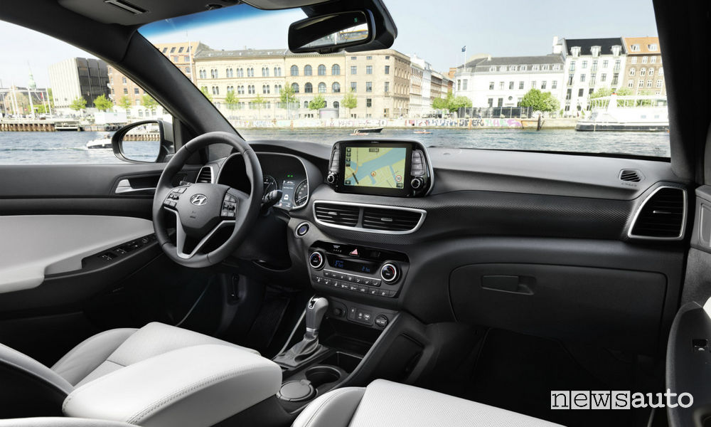 Abitacolo Hyundai Tucson XLine